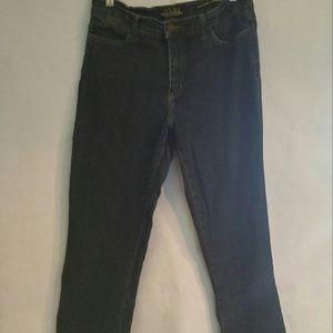 NYDJ tummy tuck blue jeans Sz 14P